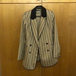 Zimmerman maples striped blazer